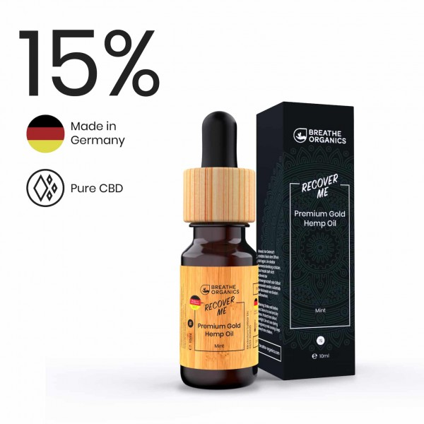 Premium CBD Öl 15% - Recover Me - 10ml