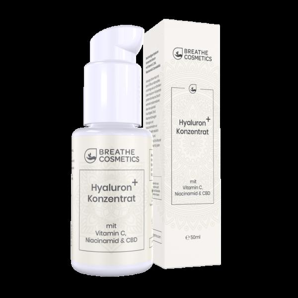 CBD Hyaluronsäure Serum mit Vitamin C & Niacinamid - Breathe Organics