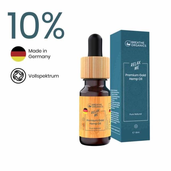 Relax Me CBD Aroma-Öl 10% - Breathe Organics