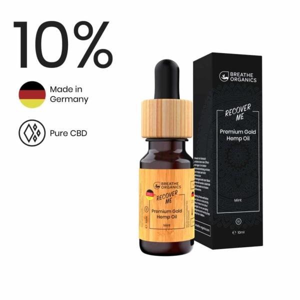 Recover Me CBD Aroma-Öl 10% - Breathe Organics