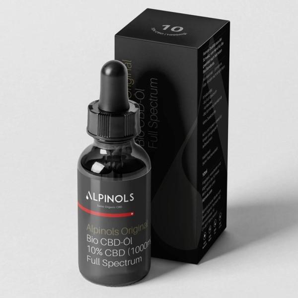 CBD-Öl 10% Full Spectrum - Alpinols Original