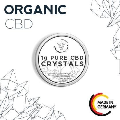 Pure CBD Crystals (CBD Isolat) 1g